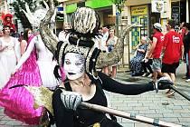 Z karlovarského karnevalu.