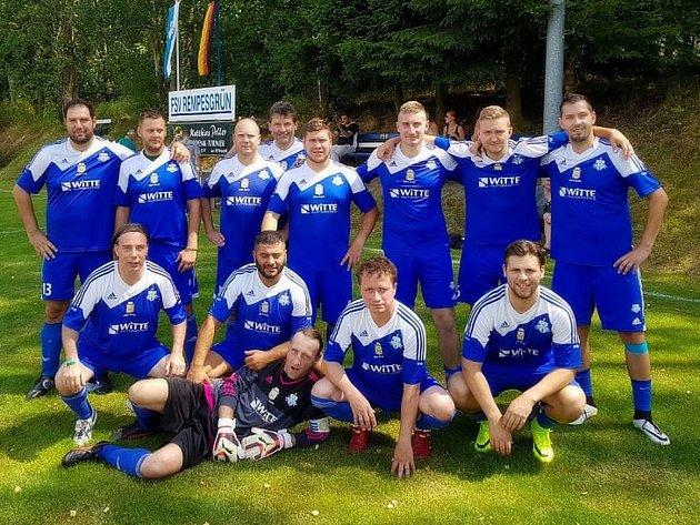 První místo si odvezli z německého Rempesgrünu fotbalisté FK Nejdek B.
