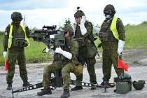 Bojovými střelbami z protiletadlových raketových kompletů vyvrcholí tento týden ve vojenském újezdu Hradiště na Karlovarsku mezinárodní cvičení Tobruq Arrows 2016.