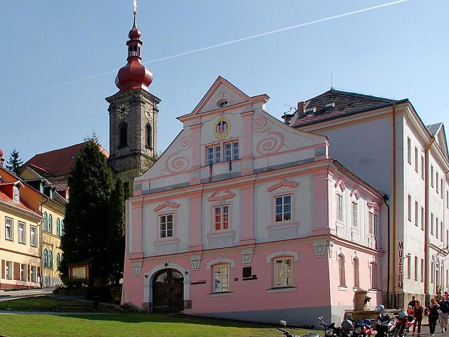 Bečovská radnice.