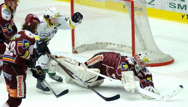 Hokejové utkání HC Energie Karlovy Vary - HC Sparta Praha