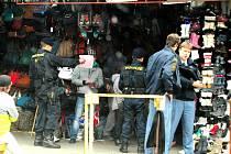 Policejní akce Úder v Potůčkách.