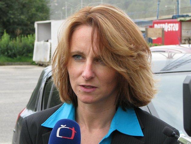Jana Suchá, poslankyně Parlamentu ČR.