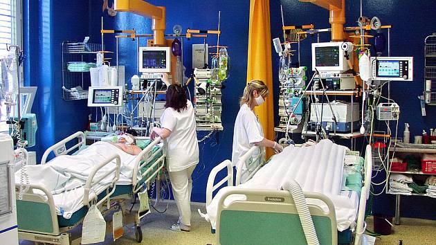 Oddělení ARO v karlovarské nemocnici