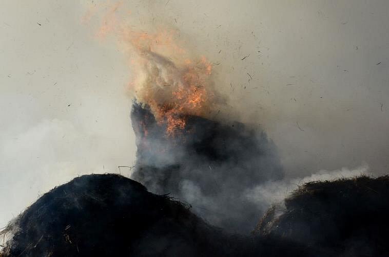 Požár v Božičanech