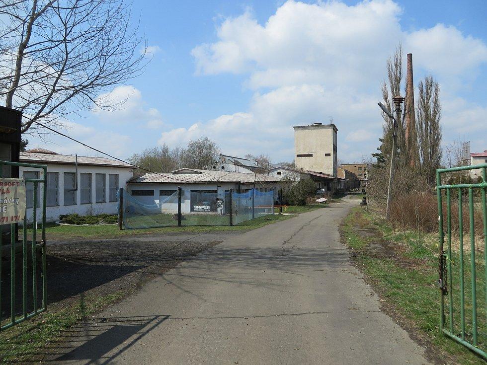 Areál bývalé továrny Jitona Teplá.