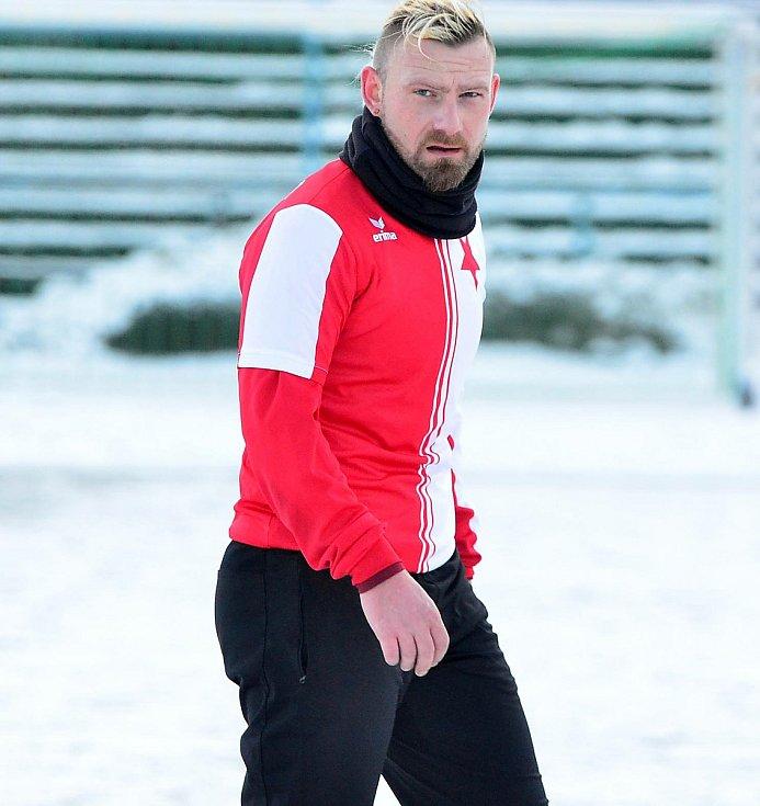 Trenér FC Slavia Karlovy Vary Marián Geňo.