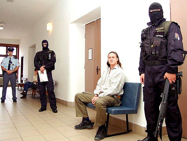 Petr Zádamský u soudu.