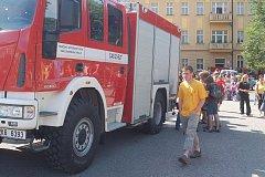 Oslavy 10 let hasičské stanice v Toužimi