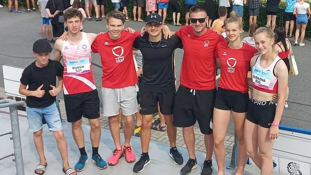 Atleti SC Start dosáhli na republice na skvělé výkony.
