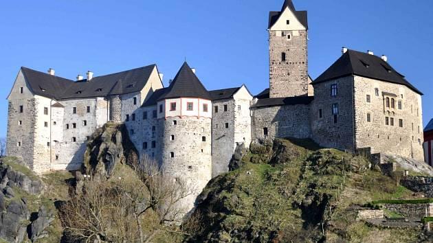 V Karlovarském kraji je o svátcích přístupný pouze hrad Loket.
