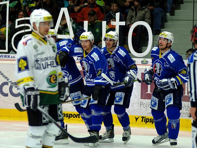 Ve 14. kole hokejové extraligy se v lázeňské metropoli představila Plzeň.