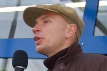 Filip Berger, předseda Lékařského odborového klubu nemocnice K. Vary