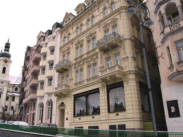 Lázeňský dům Tosca.