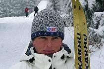 JEDINÁ lyžařka z kraje Eva Hejtmánková naMSMasters.