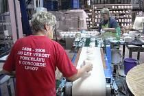Výroba porcelánu má na Karlovarsku velmi dlouhou tradici...