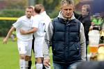 Stanislav Purkart, trenér FC Viktoria Mariánské Lázně. Ilustrační foto