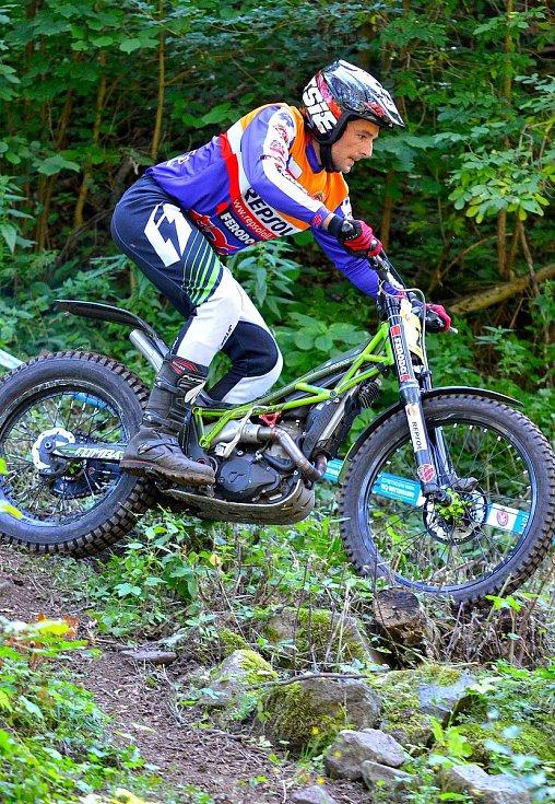 Kyselka hostila již podvanácté mezinárodní mistrovství České republiky v trialu.