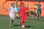 Hvězda Cheb (v bílém)  se stala vítězem krajského poháru mužů KKFS, když ve finále porazila Nové Sedlo 3:2.