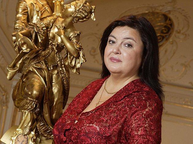 Dana Neumannová, ředitelka karlovarského Městského divadla