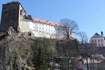 Hrad a zámek Bečov nad Teplou.