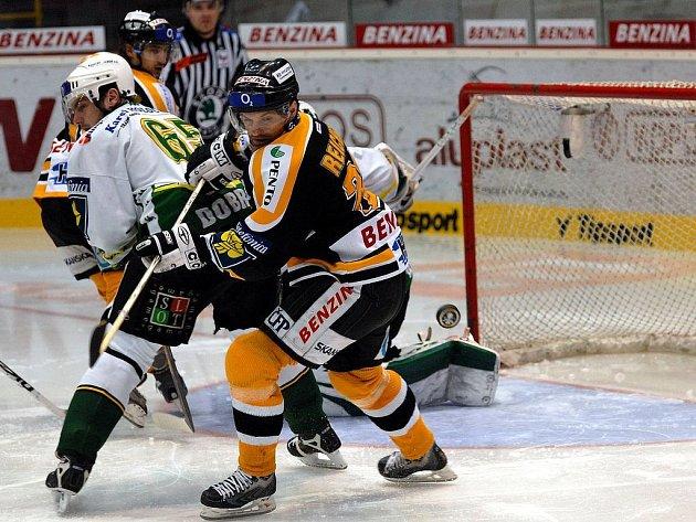 Druhý zápas v Litvínově.