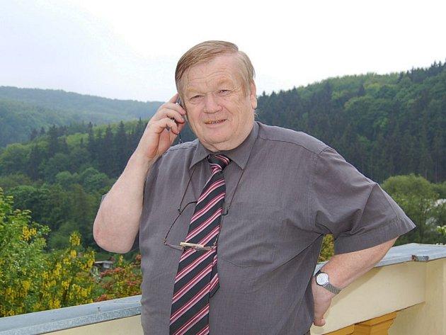 Josef Janát, starosta Kyselky