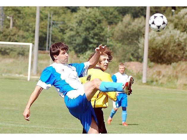 Fotbalové utkání: Vojkovice – Bochov 1:4 (0:3).