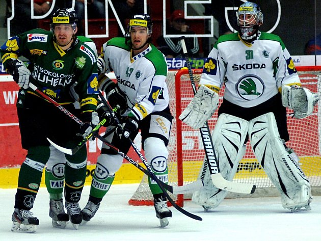 Play-out HC Energie K. Vary – BK Mladá Boleslav.