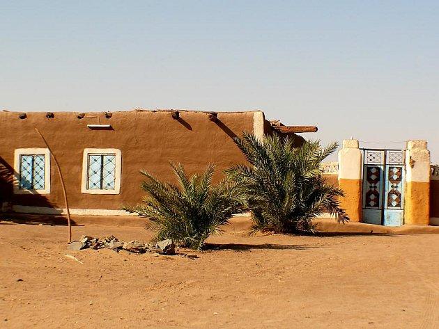 Súdánské stavení.