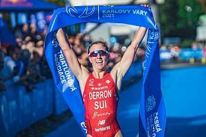 Už popáté přivítalo lázeňské centrum Karlových Varů prestižní závod Světového poháru triatlonistů.