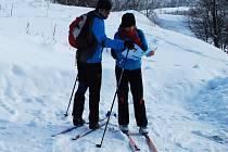 V provozu je nyní většina skiareálu v kraji. Na své si ale konečně přijdou také běžkaři, upraveny jsou desítky kilometrů stop.
