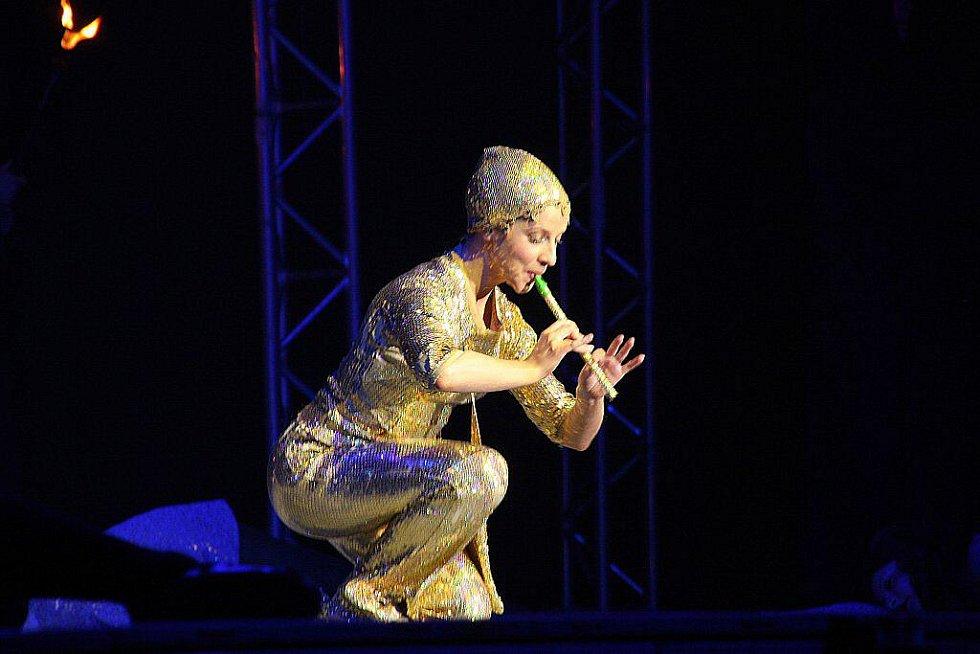Představení Lord of the Dance v KV Areně