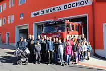 Sbor dobrovolných hasičů v Bochově.