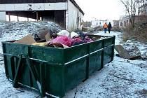 Sedmi až desetičlenná skupina pracovníků vedená koordinátorem z odboru majetku města postupně sesbírala a odklidila zhruba dvacet kontejnerů komunálního odpadu, provedla kompletní prořez zeleně a úpravu zelených ploch.