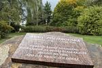 Pamětní deska zavražděné ruské novinářky Anny Politkovské (1958—2006).