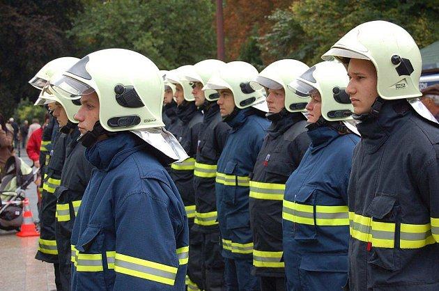 Slib nových hasičů