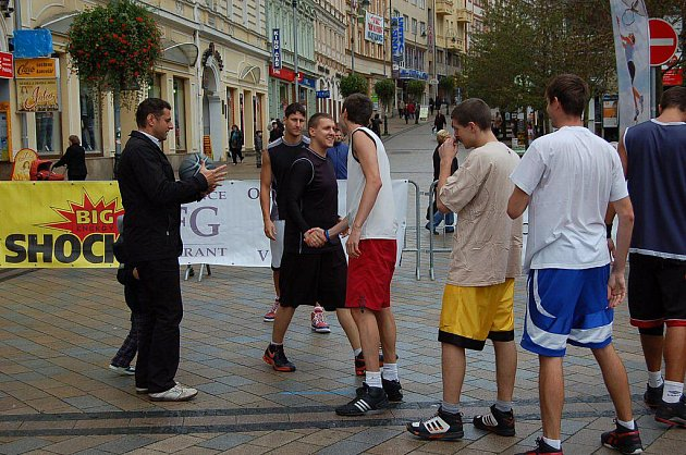 Streetball na třídě T.G.Masaryka v Karlových Varech