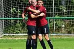 Karlovarská Slavia na závěr letní přípravy nestačila na Spartu Praha U19, které podlehla 3:4.