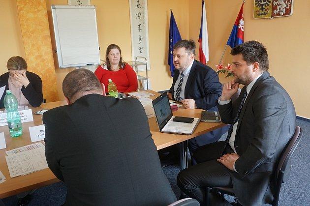 Ze setkání k problematice financování kultury v regionu.