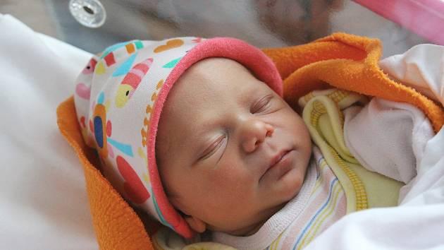 Veronika Hanzalová z Nejdku se narodila 25. prosince.