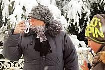 Zimní Karlovy Vary