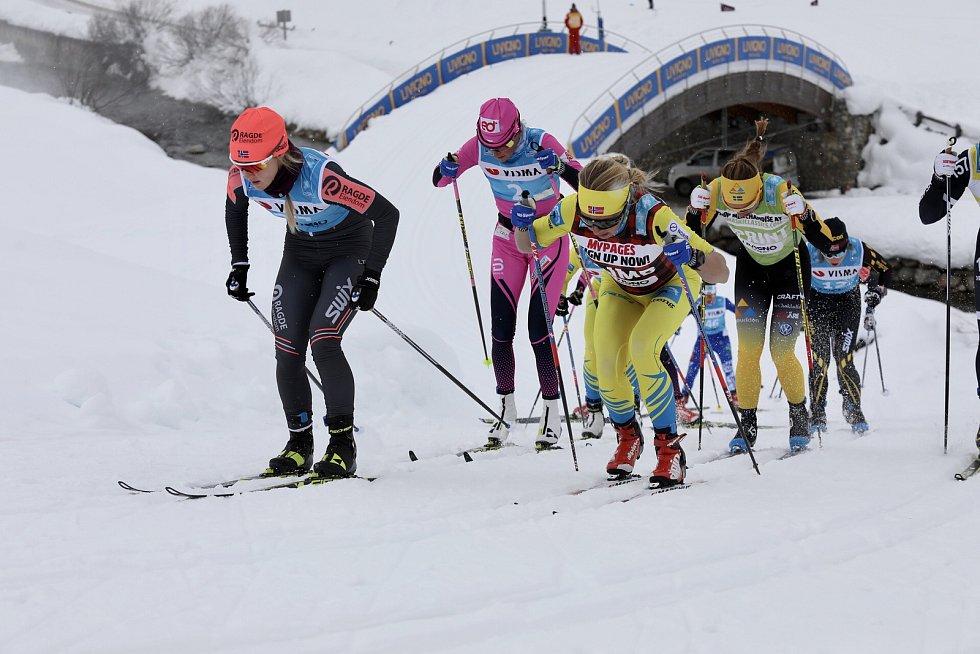 Páté místo si připsali v úvodním závodě v rámci prestižního Visma Ski Classic laufaři  eD system Bauer Teamu. Foto:  eD system Bauer Team