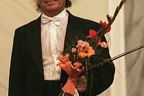 Dvořákův podzim podpořil i houslový virtuos Václav Hudeček.