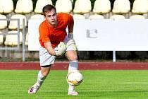 Daniel Šmejkal, brankář FC Viktoria Mariánské Lázně.