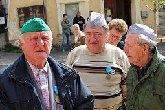 Setkání bývalých politických vězňů Jáchymovské peklo.