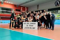 Karlovarsko zvládlo náročnou semifinálovou sérii UNIQA extraligy, když nad týmem pražských Lvů slavilo výhru 3:1 na sety, a tím dosáhlo na rozhodující třetí bod, který ho poslal do finále.
