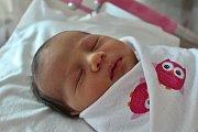 SOFIA ŠEBOVÁ z Karlových Varů se narodila 31. 10. 2016