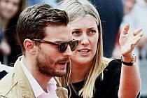 Irský herec a hudebník Jamie Dornan přijel do festivalových Karlových Varů.