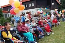 Domov v Mariánské pro osoby se zdravotním postižením.